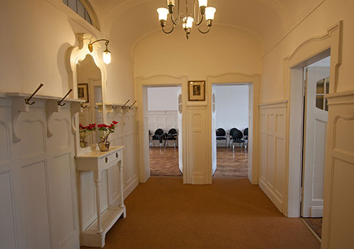 Eingangsbereich Psychoanalytische Arbeitsgemeinschaft Köln